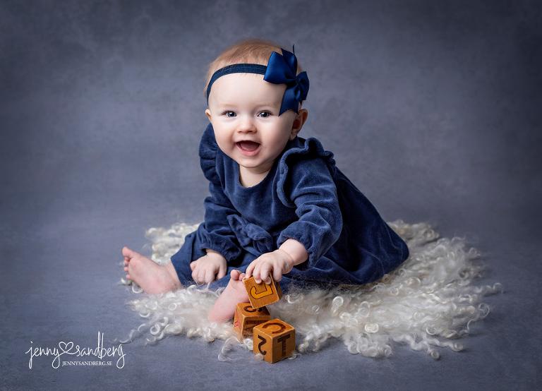 Babyfoto 6 månader, babyfotograf lund, babyfotograf malmö, babyfoto